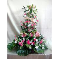Centro Regalo de Flores Naturales ref 9