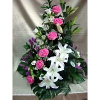 Centro Regalo de Flores Naturales ref 10