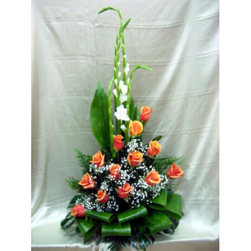 Centro regalo de flores naturales - Centro de flores naturales ...