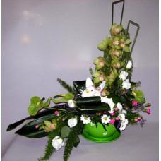 Centro Regalo de Flores Naturales ref 18