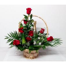centro de flores naturales ref 51