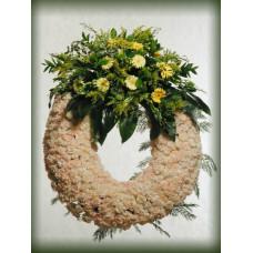 Corona de Flores Naturales ref 3