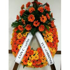 Corona de Flores Naturales ref 4