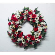 Corona de Flores Artificiales ref 1