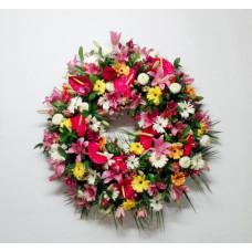 Corona de Flores Naturales ref 8